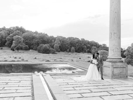 National Arboretum Zoom Wedding   Washington D.C.   Toyah + Michael