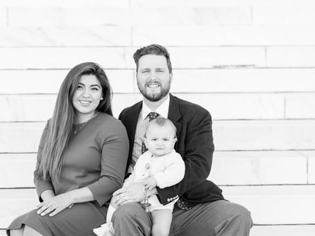 Lincoln Memorial Family Session | Washington D.C. | Hall Family