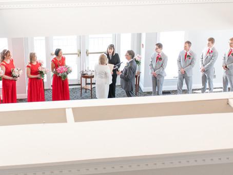 Winter Wedding at Ceresville Mansion   Frederick, Maryland