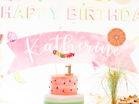 Fruit-themed 1st Birthday Party in Fairfax County