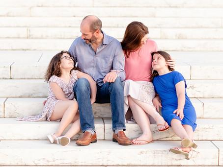 The Williamson's | Jefferson Memorial Family Photos | Washington D.C.
