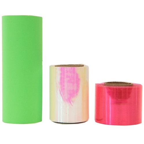 Iridescent, Neon & Fluorescent Ribbon