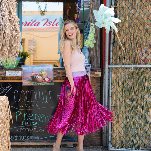 The BEST Luau Skirt!