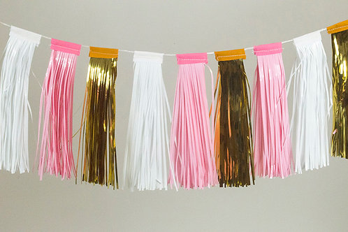 Party Pink Tassels