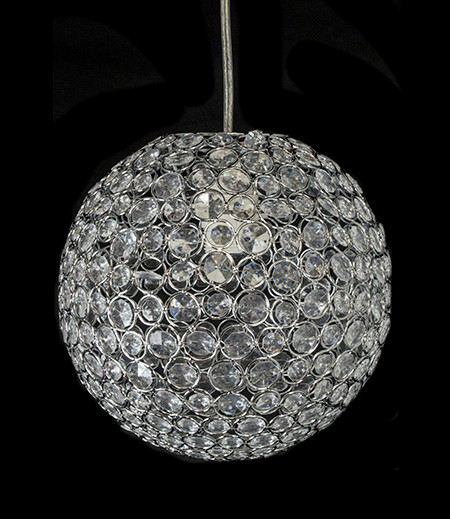 Crystal globe chandelier hll5333 decorativenovelty decorative noveltys sparkling crystal globe chandelier is the perfect accent piece for your upcoming party wedding or eventwith its bright colors and aloadofball Gallery