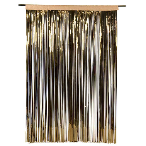 Metallic Bronze Photobooth Curtain