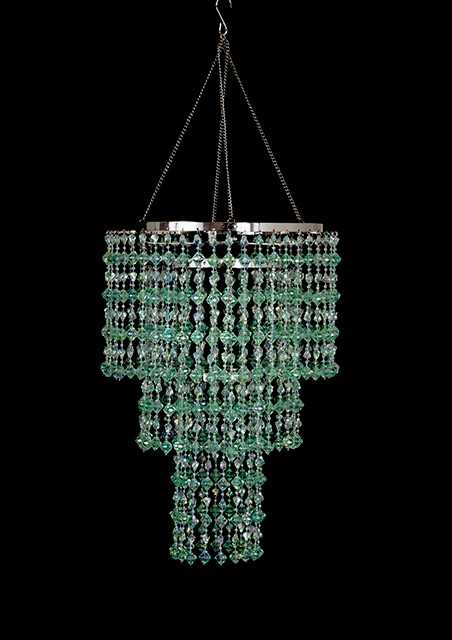 Mint crystal beaded chandelier cha14m decorativenovelty mint crystal beaded chandelier cha14m aloadofball Choice Image