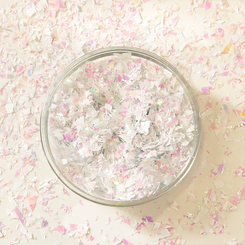 Pearl Confetti Scattered Flakes