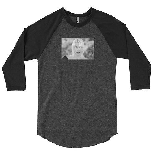 3/4 sleeve 'Come Alive' raglan shirt