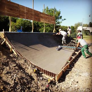 Juillet 2020 // LE VAUDREUIL - Création d'un skatepark
