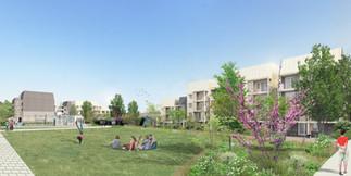 Juin 2020 // SILOGE - Réhabilitation des immeubles Les Sentiers à Léry en éco-quartier