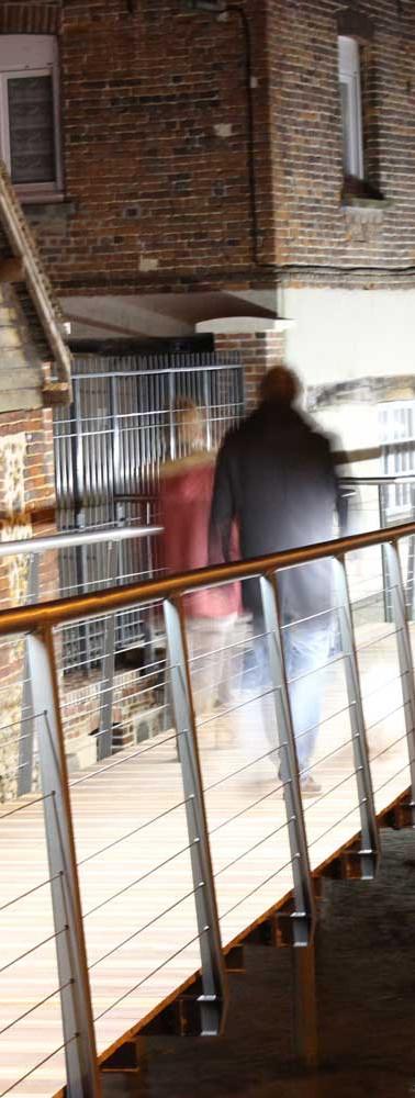 Passerelle du Cosnier à Bernay (27)