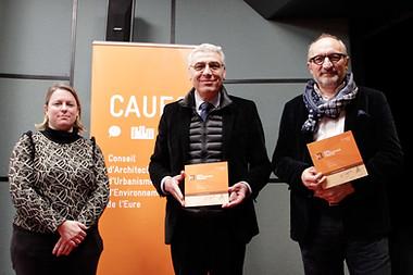 Février 2018 // CAUE 27 - Prix de l'Architecture et de l'Aménagement Normand 2018