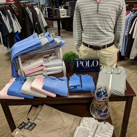 Polo Ralph Lauren Display