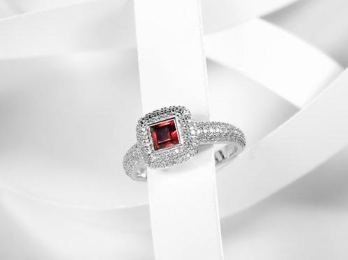 Garnet Gemstone Ring - RP2191