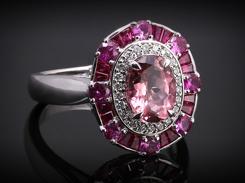 Ruby Oval Crown