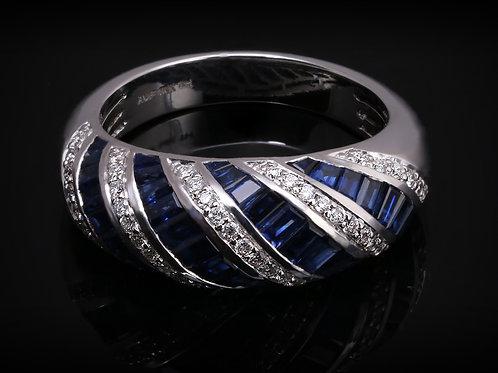 Blue Sapphire Twist