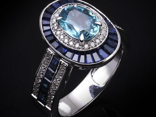 Blue Sapphire Shield