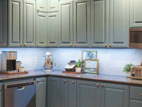 Easiest DIY Under Cabinet Lighting