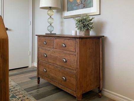 Refinishing an Old Dresser