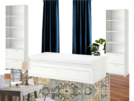 Office / Guest Room Combo: Plan