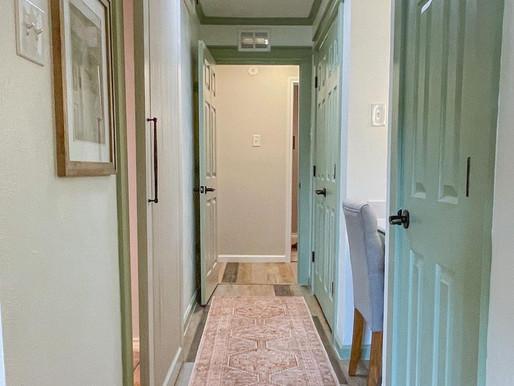 Bedroom Hallway Reveal