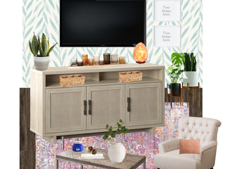 Apartment Media Wall Design