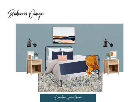 Boho Farmhouse Bedroom Design