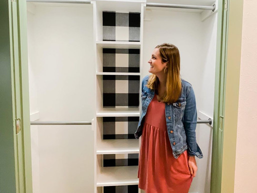Step-In Closet Makeover
