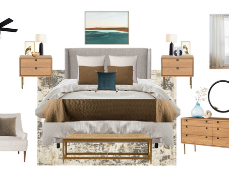 California Coastal Bedroom