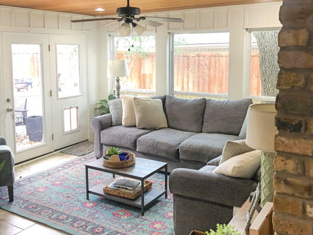 Renovating our Sun Room: Before and After