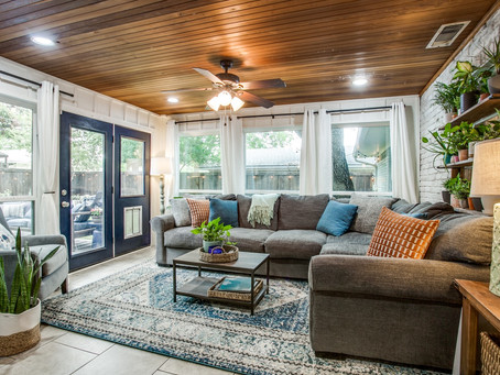 Before and After: Sunroom