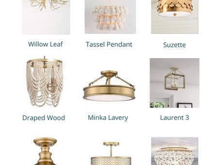 Favorite Semi-Flush Ceiling Mount Lights