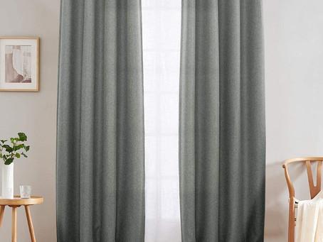 Affordable Linen Blackout Curtains