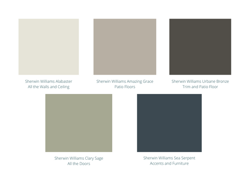 Outdoor Patio Paint Reveal