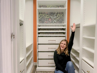 DIY IKEA Pax Walk-In Closet
