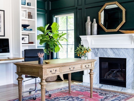 Green Accent Wall Paint Colors