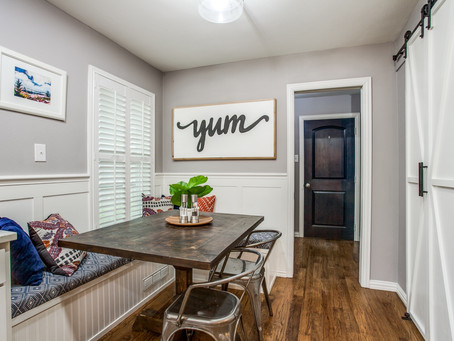 Before and After: Kitchen Nook