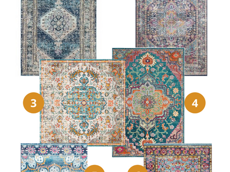 Decorating with Colorful Rugs