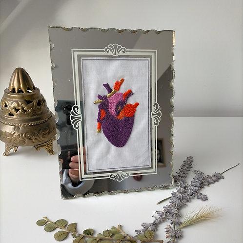 """Cadre """" Coeur à prendre """""""