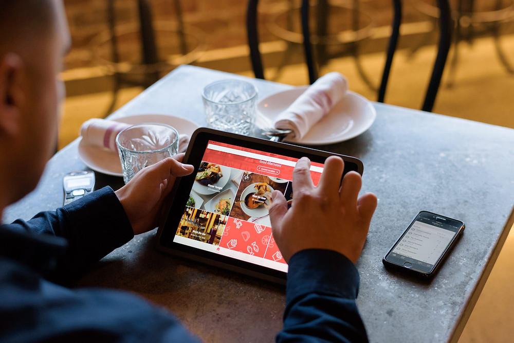Menu online và những tiện ích vượt trội