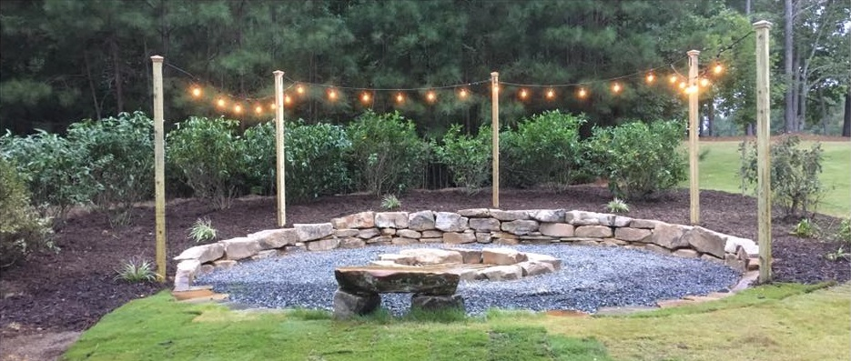 Fire pit Completion