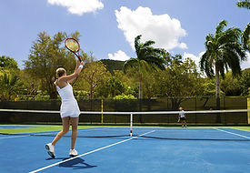 Tennis Hitting Practice