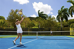 Tennis St. John Racket Match Tennis Balls Court Game Exercise USVI
