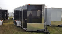 7x14 Enclosed Cargo Trailer