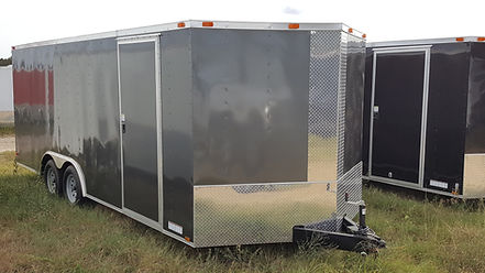 8.5x20 Enclosed Cargo Trailer