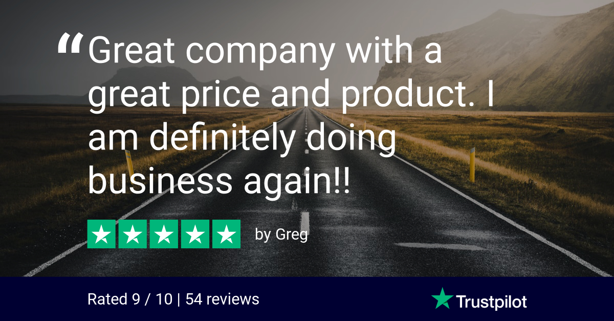 Trustpilot Review - Greg