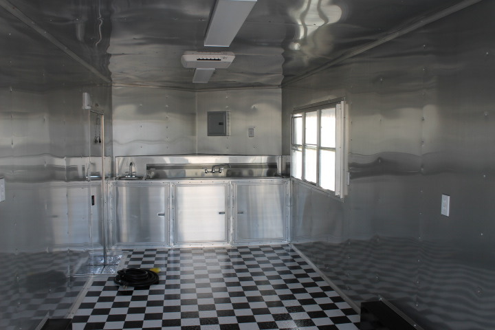 Enclosed Concession Trailer