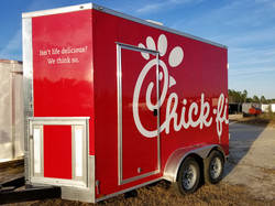 Chick-Fil-A Serving Trailer