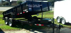 D2E 6x12 Dump Trailer